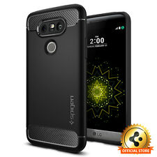 LG G5 Spigen® [Rugged Armor] Slim Shockproof Case TPU Protective Cover