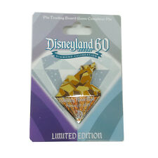 Disneyland 60th Diamond Grizzly Bear Run Pin Trading Board Game Completer Pin