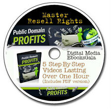 How to Profit from Public Domain Materials - 5 Videos with Master Resell Rights