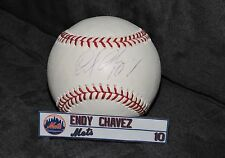 PSA DNA Endy Chavez Autographed Baseball Ball Mets Phillies Orioles Mariners
