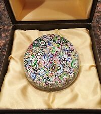 "Perthshire Paperweight Scrambled End of Day Close Packed Millefiori 3""Dia"