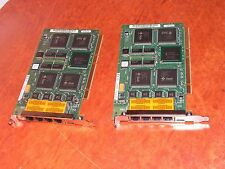 Lot of 2 SUN Quad FastEthernet PCI Adapter 501-5406-38