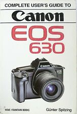 EOS 630 Complete User's Guide | Hovo Press | New | 173p |
