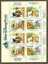 Canada Stamps -Booklet Pane of 16 -Winnie The Pooh #1621c (BK194) -MNH