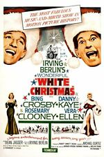 IRVING BERLIN'S WHITE CHRISTMAS - MOVIE POSTER 12X18 - BING CROSBY DANNY KAYE