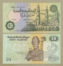 EGYPT - 50 piastres 2008 - PRICE is 50p NOT £1 - P62  Uncirculated ( Banknotes )