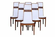 Mid Century Modern MCM Dining Chairs, Set of 6