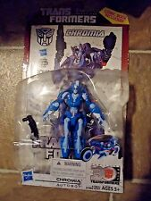 HASBRO TRANSFORMERS GENERATIONS IDW CHROMIA DELUXE CLASS ACTION FIGURE