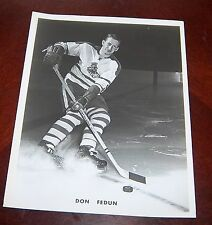 Cleveland Barons  Don Fedun 1960's  from the Woody Ryan Collection