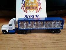 Winross Truck and Trailer Busch Beer Series 1:64