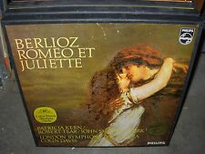 DAVIS / BERLIOZ romeo et juliette ( classical ) 2lp box philips holland