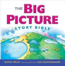 THE BIG PICTURE STORY BIBLE [97 - GAIL SCHOONMAKER DAVID R. HELM (HARDCOVER) NEW
