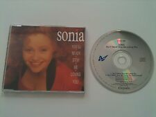 Sonia  - YOU´LL NEVER STOP ME LOVING YOU - UK 2 Track CD Single © 1989 / PWL