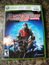 Earth Defense Force 2017 (Xbox 360, 2007)