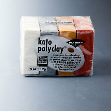 Kato PolyClay Metallic Colors