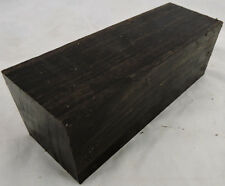 2 Gabon Ebony Wood 2x2x6 Cues Woodworking Tool Handles Scales Gabon Ebony Timber