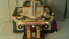 CHRISTMAS VILLAGE DEPART. 56, HOLLY BROTHERS GARAGE, NO PROBLEMS, W/BOX, 1995