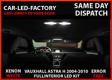 VAUXHALL ASTRA H INTERIOR & EXTERIOR XENON WHITE 12 LED REPLACEMENT BULBS