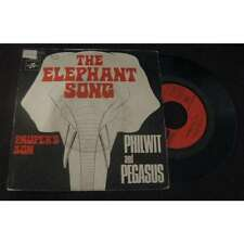 Philwit & Pegasus (MARK WIRTZ) - The Elephant Song Rare French PS 7' Psych 1971