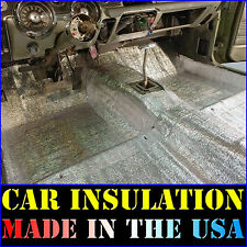 80 Sqft Thermal Sound Deadener - Block Heat & Sound - Automotive Car Insulation