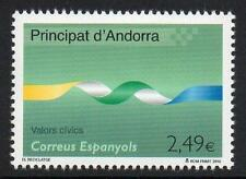 ANDORRA (SPAIN) MNH 2010 Civic Values - Recycling