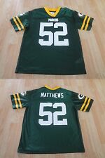 Youth Green Bay Packers Clay Matthews L (12/14) Jersey NFL Team Apparel Jersey