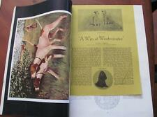 1938 Country Life & The Sportsman Magazine Dogs Westminster Hialeah Heyday Horse