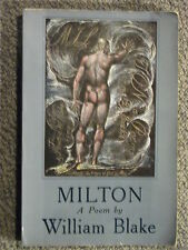 Milton: A Poem by William Blake 1979 with full colour facsimile reproduction