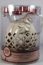 Yankee Candle Luminary Pumpkin W/4 Tealights-Apple Pumpkin Candles #1515218-NEW!