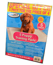 Puppy Dog Absorbent Training Pads 5 in pack Toilet Wee Trainer 50 x 40