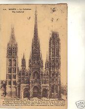 76 - cpa - La cathédrale de ROUEN ( i 235)
