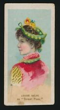 1889 N73 Duke's Cigarettes FANCY DRESS BALL COSTUMES -Louise Balfe (Sweet Pea)