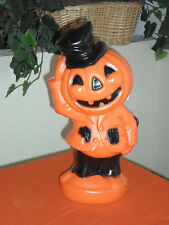 Halloween Pumpkin Head Blow Mold Light