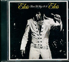 Elvis Presley - That's The Way It Is CD Japan BVCP 5006