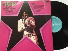 "ELVIS PRESLEY 12"" Vinyl LP 1972 SINGS SONGS FROM HIS MOVIES **Free UK Postage**"