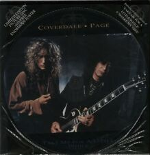 "COVERDALE PAGE Take Me For A Little While 1993 UK 12"" Vinyl PICTURE DISC Jimmy"