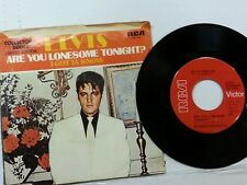 """ELVIS PRESLEY 45 RPM """"Are You Lonesome Tonight"""" """"I Gotta Know"""" w/ pic sl VG++"""