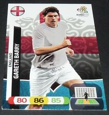 GARETH BARRY ENGLAND FOOTBALL CARD PANINI UEFA EURO 2012