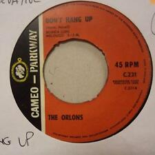 """The Orlons(7"""" Vinyl)The Conservative / Don't Hang Up-Cameo Parkway-C 23-Ex/VG"""