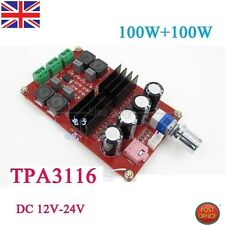 Tpa3116 2 * 100W D2 Dual Channel Digital Audio Amplifier Board 12V-24V per Arduino