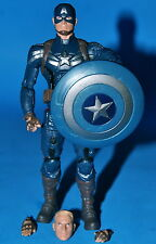MARVEL LEGENDS INFINITE SERIES STEVE ROGERS BAF MANDROID LOOSE COMPLETE