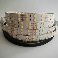 5M Super White 120LED/M 5630 SMD Double Row 600 LED Flexible Strip light 12V NP
