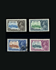 VINTAGE: HONG KONG 1935, OG LHR,LT ADH  SCOTT # 147-150 $58 LOT #5559