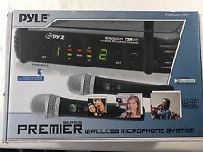 PylePro PDWM3375 Premier Series Professional 2Channel Wireless Microphone System