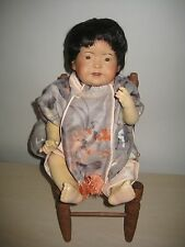 BEAUTIFUL ASIAN Porcelain Head CELLULOID BODY Doll Made in Germany JDK 243 REPO