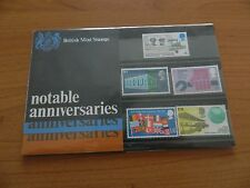 1969 NOTABLE ANNIVERSARIES PRESENTATION PACK  IN MINT CONDITION
