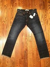 Gap Mens 1969 Kaihara Japanese Selvedge Denim Slim Low Rise Jeans 29 x 30 NWT