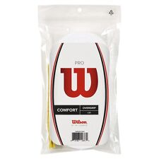 WILSON PRO OVERGRIP WHITE FOR TENNIS, PADEL pack of 30 grip, free 48 hr tracked