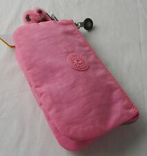 Kipling Creativity Conversation Heart Pink Large Pouch Wallet Cosmetic Bag