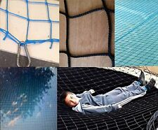 KN 7m x 4m BLACK SUPER NET child safety garden pond netting pool cover grids